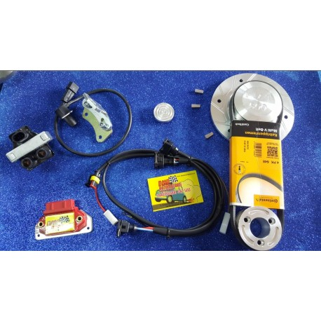 MODIFICATION HIGH PERFORMANCE ELECTRONIC IGNITION DELIVERS SPINTEROGENO FOR FIAT 500/126 ENGINES WITH POLY-V KIT