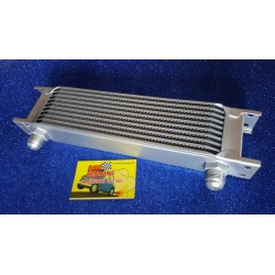 ALUMINUM RADIATOR FOR 10 FILE ENGINE OIL COOLING WITH AN 10 ATTACK.