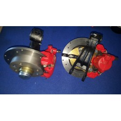 DISC BRAKES with NEW BRUSH adaptable to fiat 126 or 500