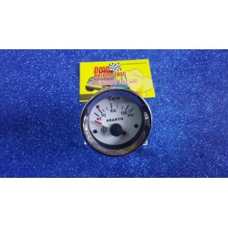 "OIL TEMPERATURE INSTRUMENT 52mm WITH ""ABARTH"" WRITTEN FOR FIAT 500 F / L / R 126"