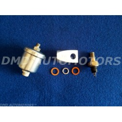 SENSOR for OIL PRESSURE GAUGE with SUPPORT for the BULB with BULBO along OIL SPY